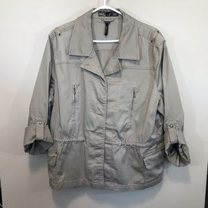 FDJ French Dressing Button Up Cargo Jacket